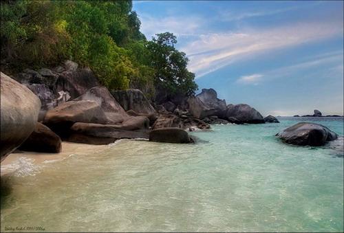 Фотография Малайзии. Бирюзовая морская-3...